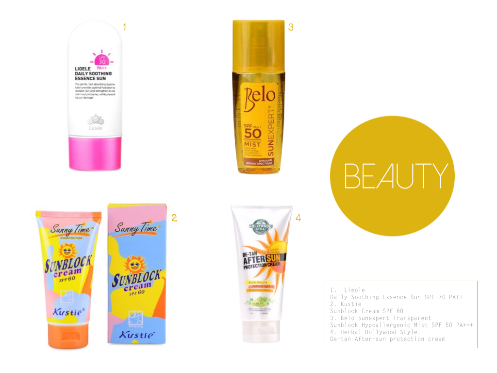 Summer Essentials For 2014, Beauty Essentials at Lazada PH, The Belle Of A Boulevard
