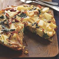 Weight Loss Recipes : Potato and Greens Frittata
