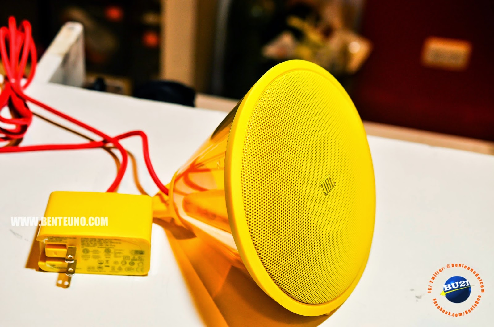 JBL Spark Yellow. Fires up the sound in your room in seconds