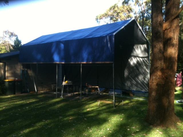 shelter portable garage sheds shed h tarp round