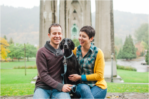 Will + Kate // An Oregon Engagement Session by Brittany Lauren Photography