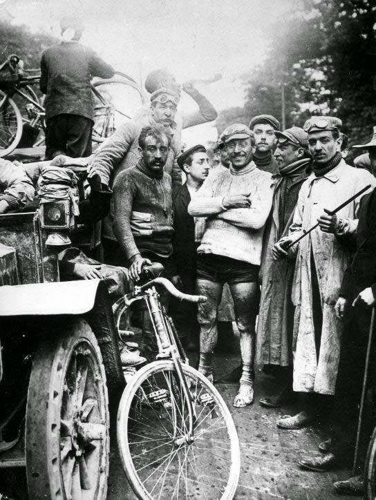 Ganador primer Tour de Francia, Maurice Garin 1903