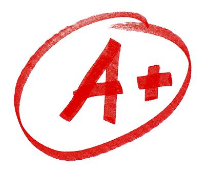 Image of an A+ circled