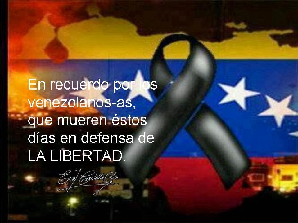La población civil e indefensa lucha en las calles de Venezuela