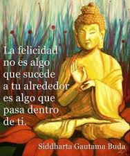 La felicidad según Buda: