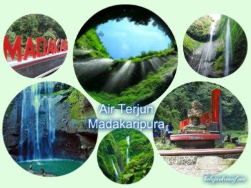 Gambar wisata air terjun Madakaripura Probolinggo Jawa Timur