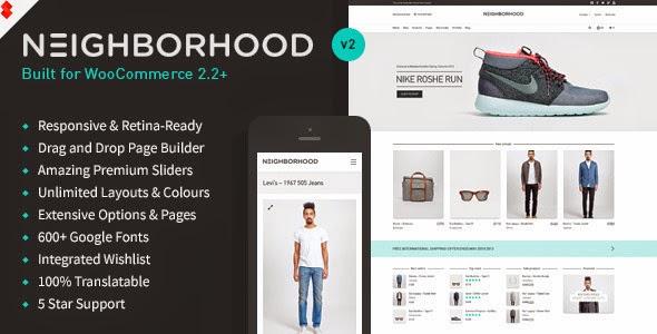 Neighborhood Responsive Multi Purpose Shop Theme