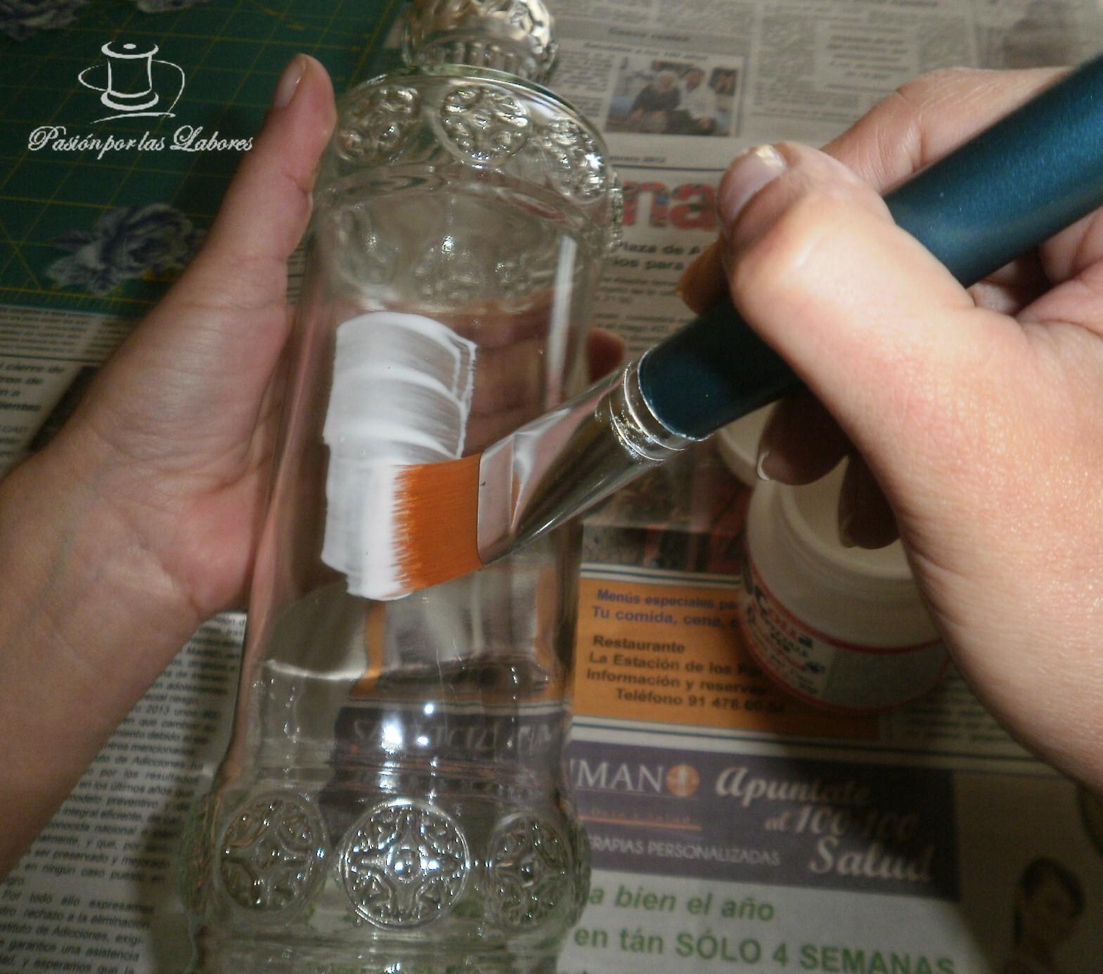 Puntadas para ni os tutorial de decapage en vidrio - Pegar cristal y metal ...