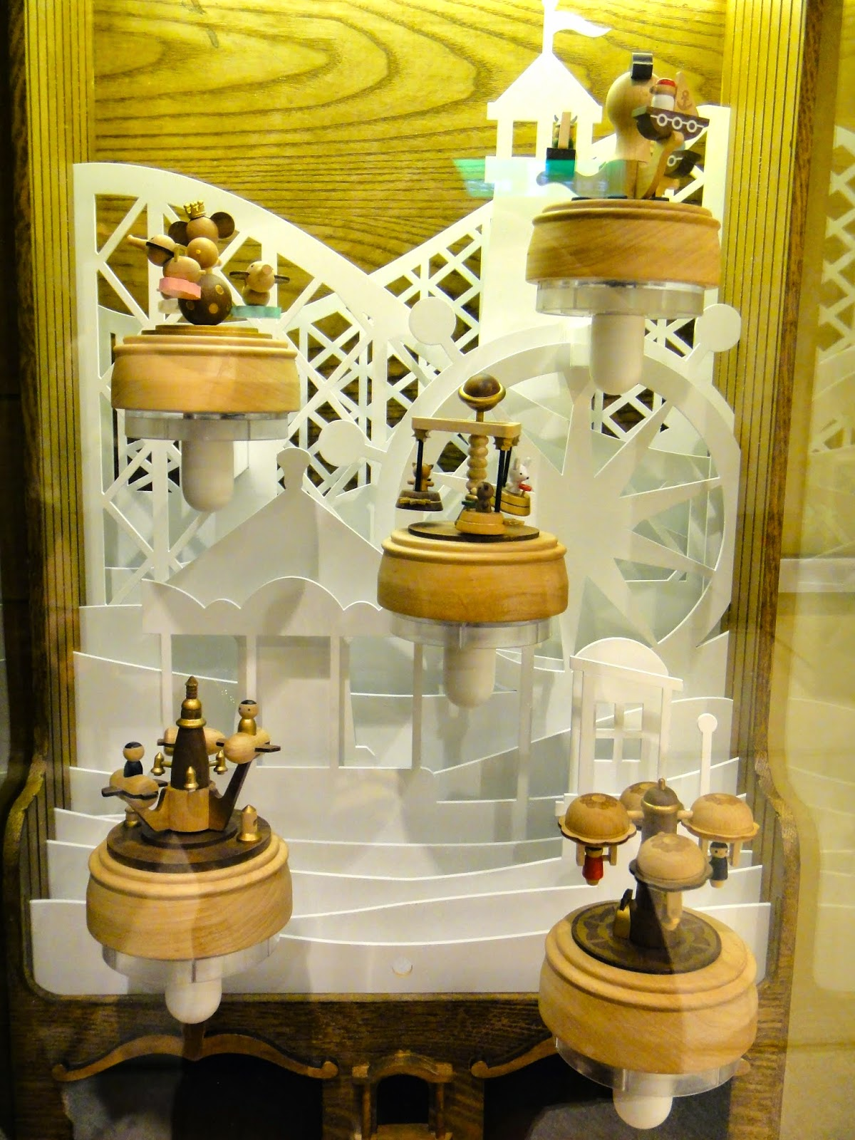 Made in Taiwan Wooden Music Box