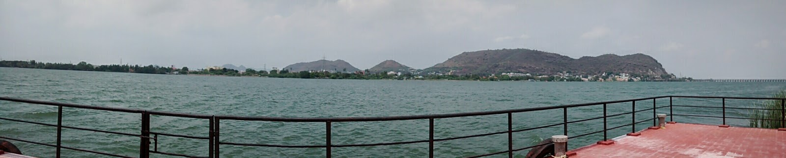 View from Bhavani island