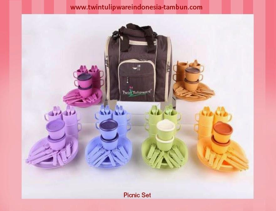 picnic set | produk baru tulipware 2013