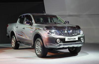 Mitsubishi Triton mới - tìm lại vị thế tại Việt Nam