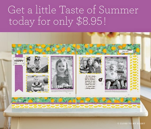 Taste Of Summer Scrapbook Workshop