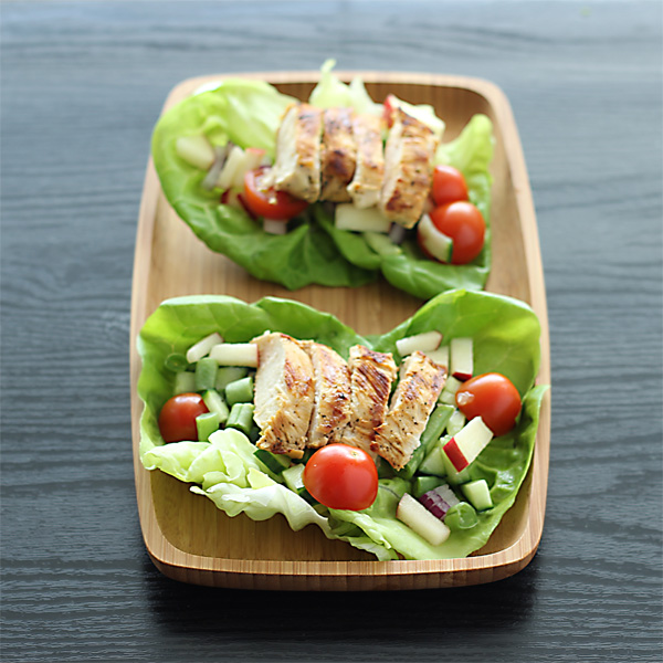 Nalls' Kitchen: Grilled Island Chicken Lettuce Wraps