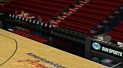 NBA 2K14 Heat Dornas + Stadium Mod