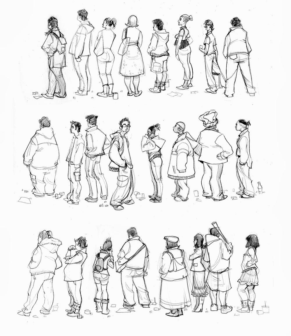 Drawings Of People: Mrs.Berenice's Art Room: Drawing People