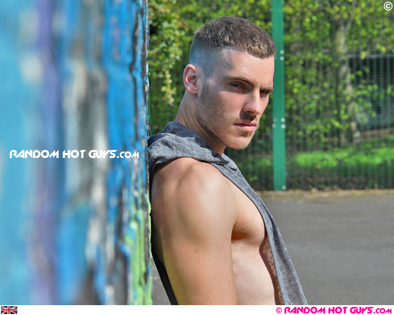 Model Colin Gentry appears on Random Hot Guys