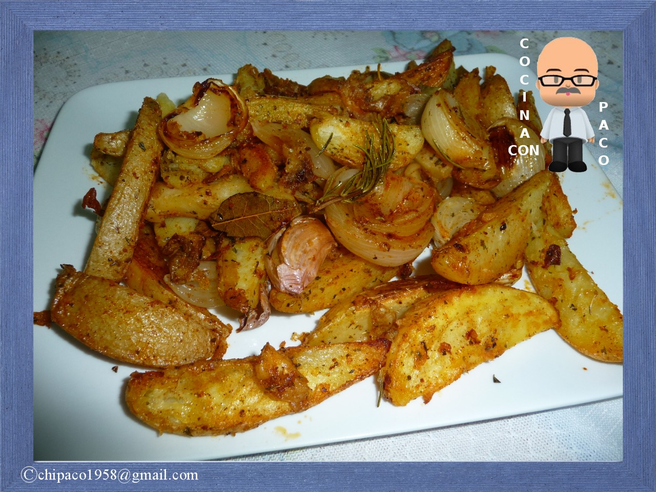 Cocina con paco patatas rusticas - Cocina con paco ...