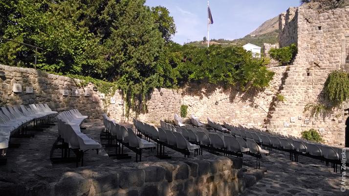 Летний театр в Старом Баре, Черногория
