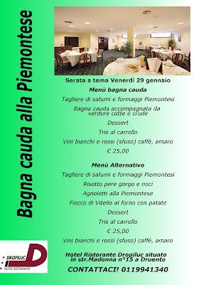 ristorante per bagna cauda Torino