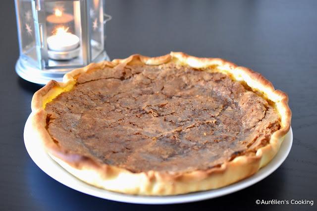 Pumpkin pie - Tarte à la citrouille
