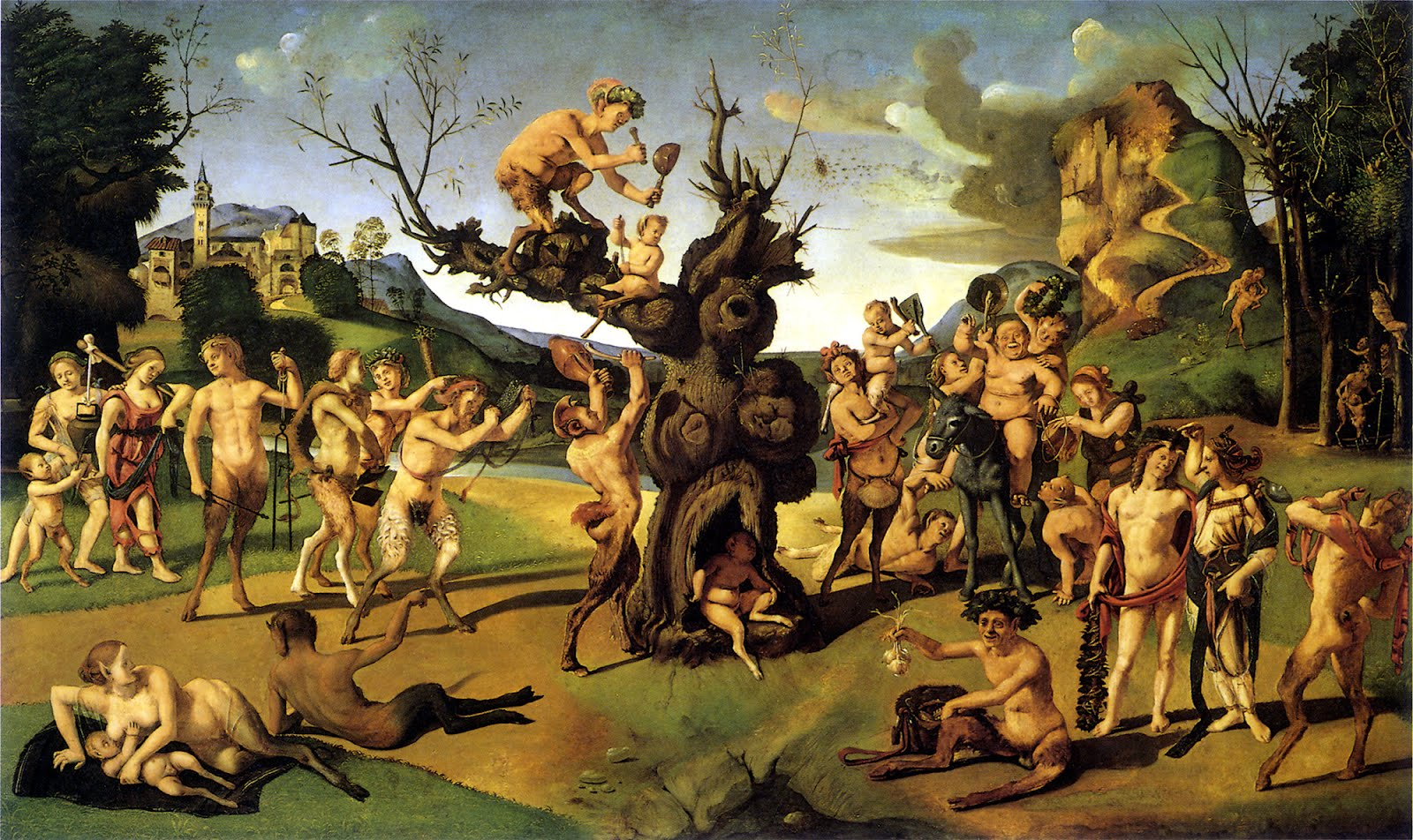 Piero di Cosimo, Discovery of Honey