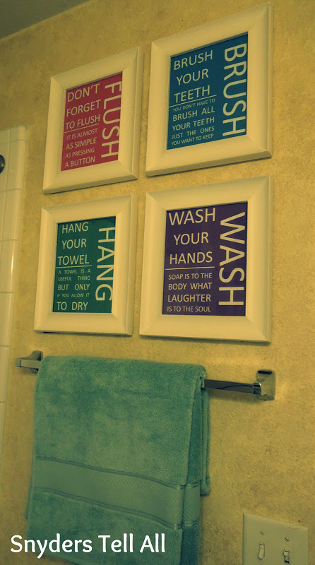 DIY: Cheap Bathroom Decor - Joyfully Prudent