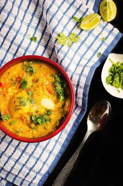 easy khichdi recipe daliya khichdi