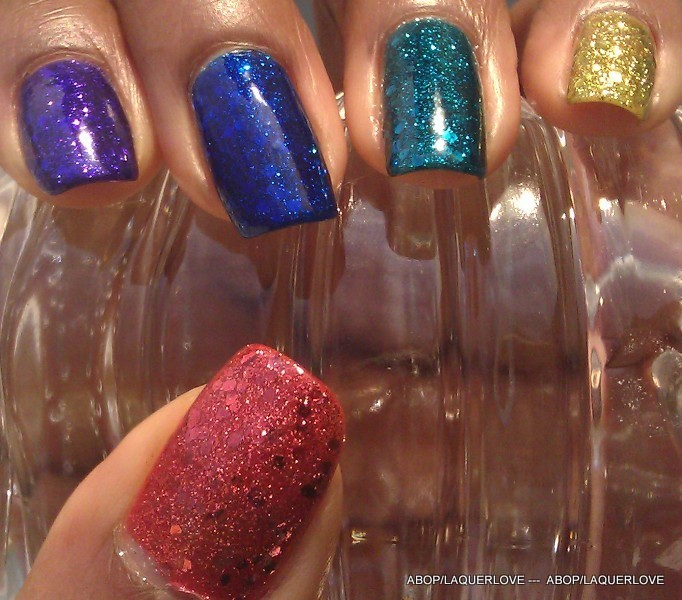 ANOTHER Bottle of Polish?!: Mia Secret Storm of Glitter - Silver ...