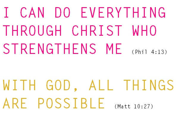 I Can Do All Things Through Christ Who Strengthens Me Pictures I can do everything through