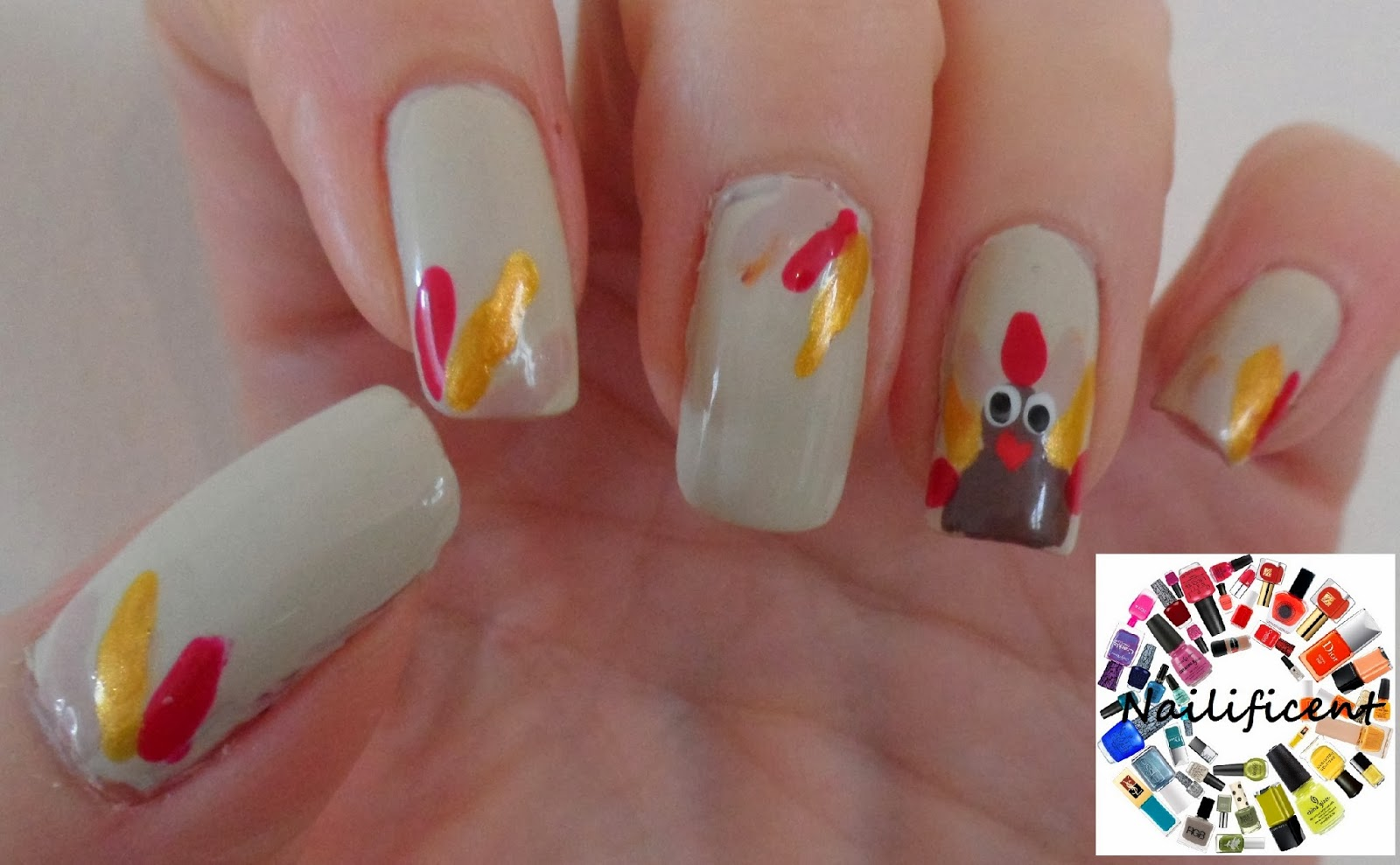 Nailificent: Thanksgiving Nail Art