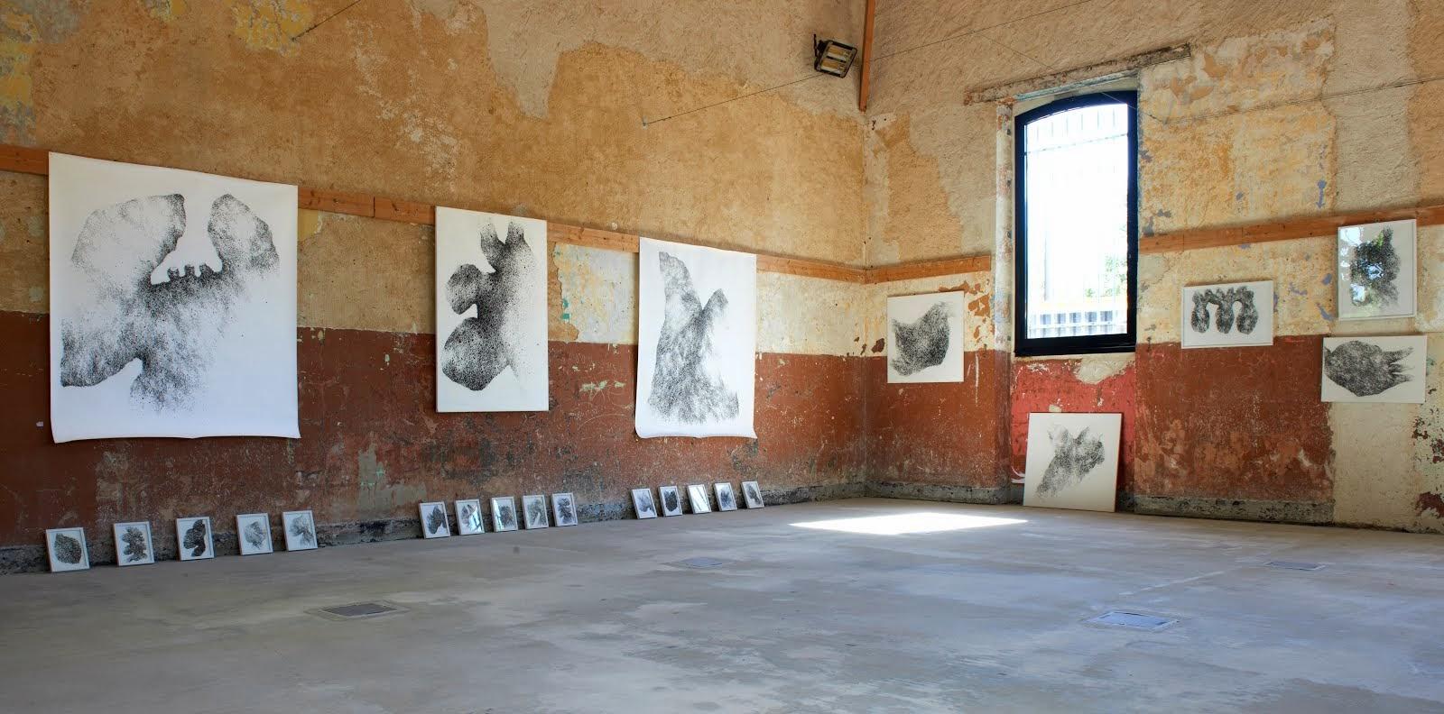 Installation provisoire / Pavillon Monod. Photo Cécile Leroy.