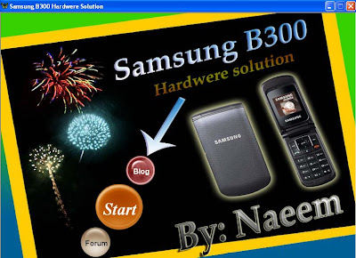 Samsung B300 hardware solution
