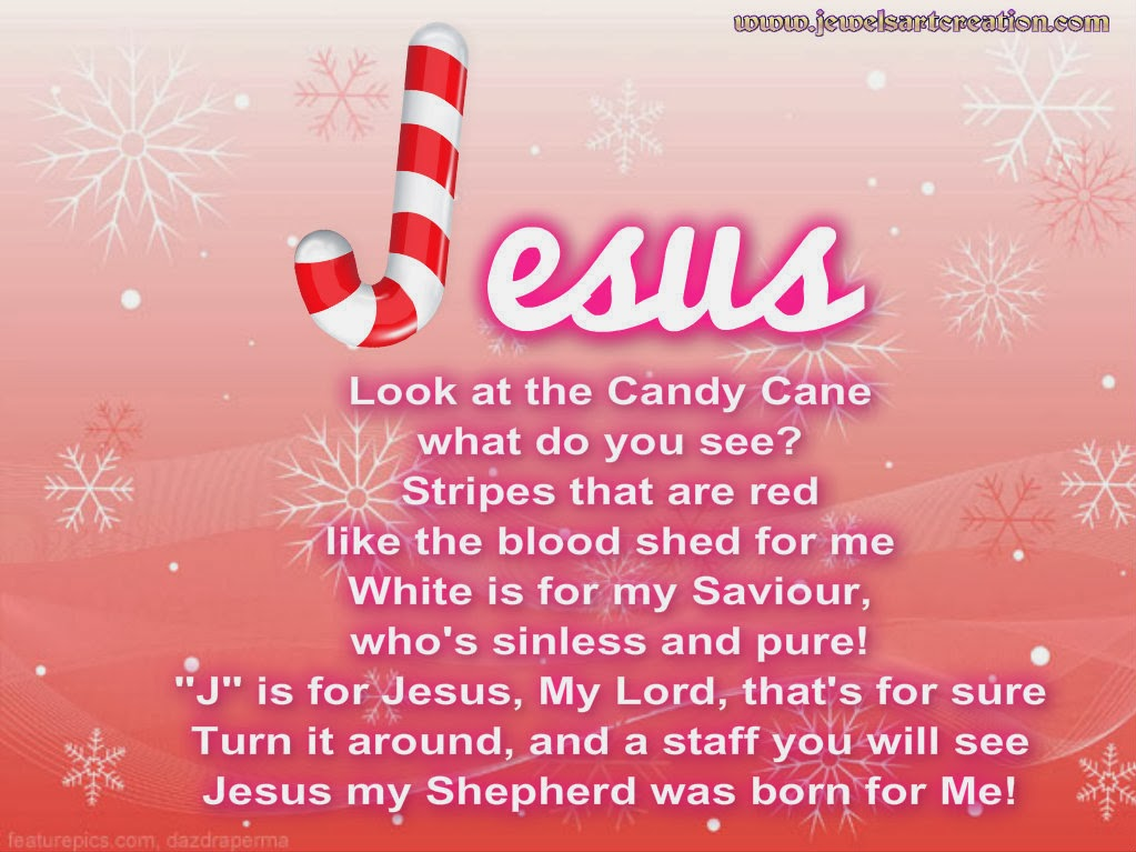 candy cane jesus printable | just b.CAUSE