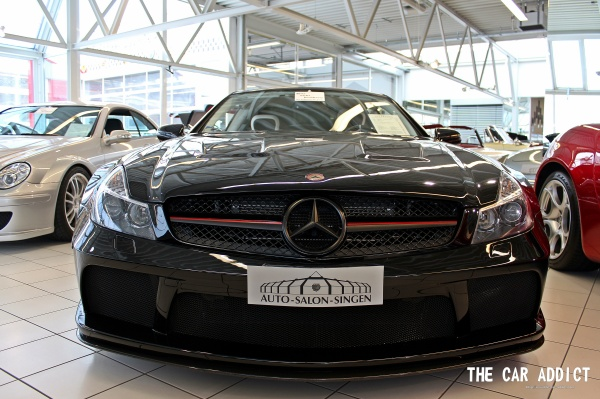 Auto-Salon Singen: Mercedes-Benz SL 65 AMG R230 Black Series