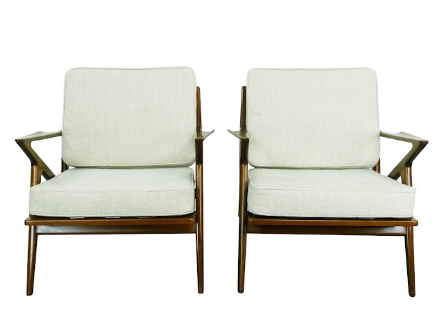 Poul JensenSelig Z Lounge Chairs Danish Modern Denmark Img 2