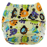 Swaddlebees Simplex All-in-One One-Size Cloth Diaper