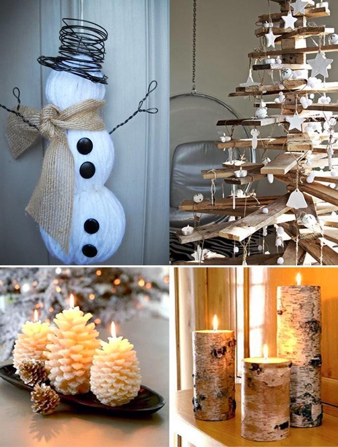 Новогодние идеи украшения дома своими руками фото
