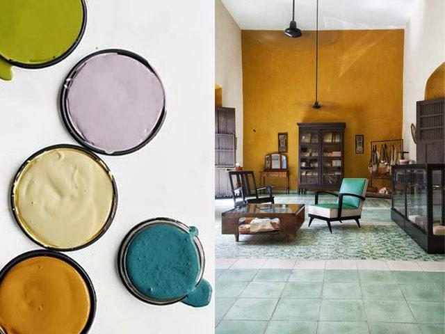 association couleur moutarde