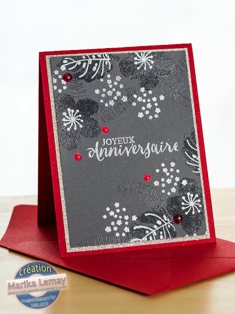 Botanical blooms Stampin' Up! occasions 2016