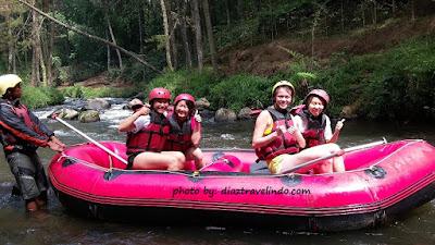 bandung rafting