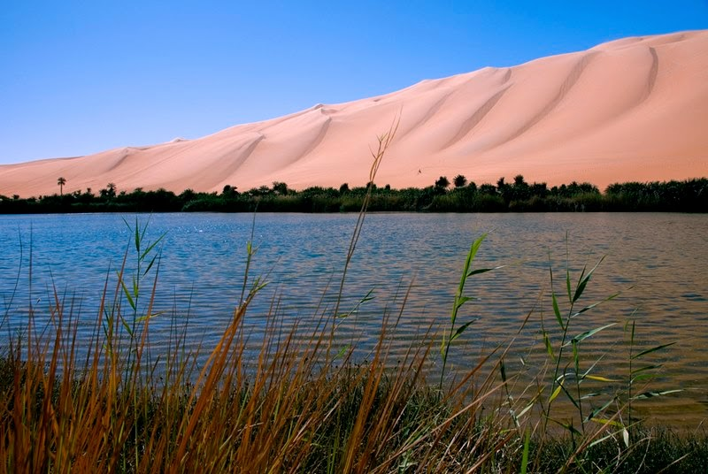 Ubari Lakes | The beautiful oasis in the Sahara desert