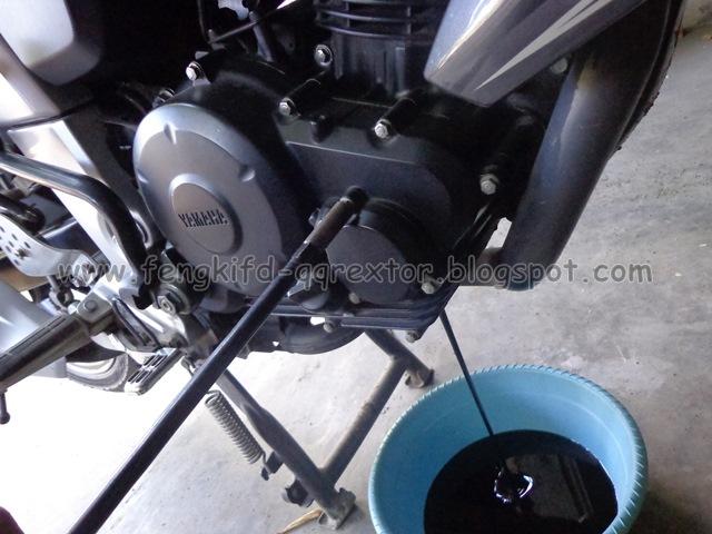 Ingat, Yamaha Byson Ganti Oli Tiap 1.500 Km