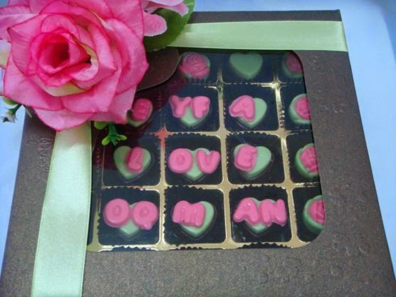 25pcs chocolates in box