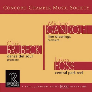 Concord Chamber Music Society Release Brubeck/Gandolif/Foss