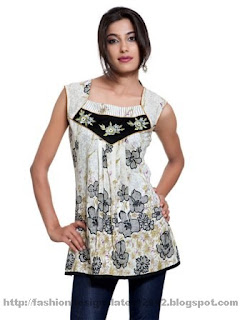 Embroidered-Short-Kurti