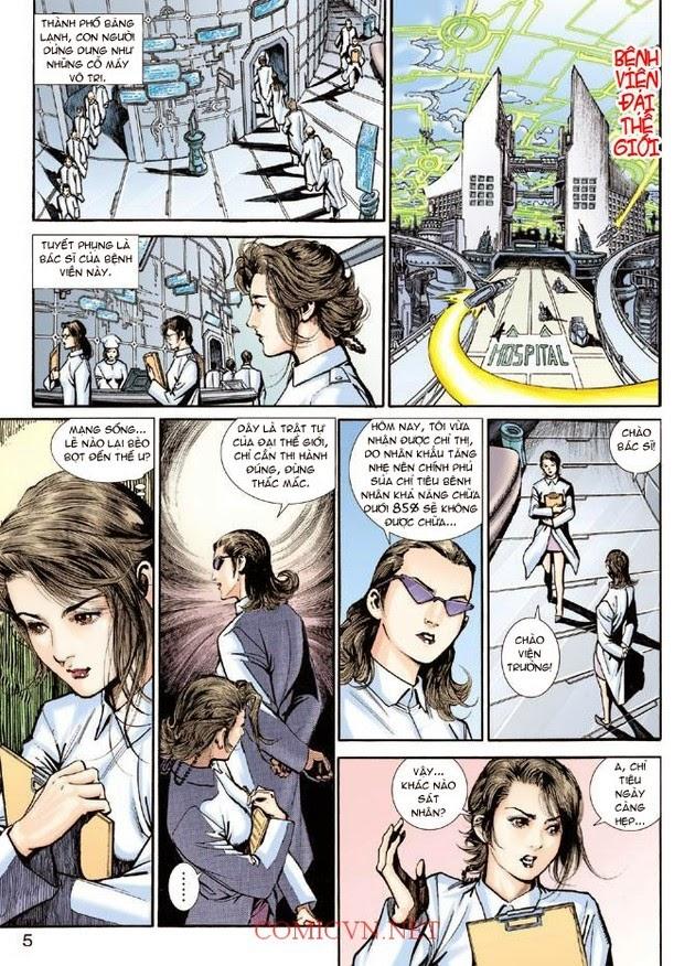 Thần Binh Khoa Huyễn Ký chap 2 - Trang 5
