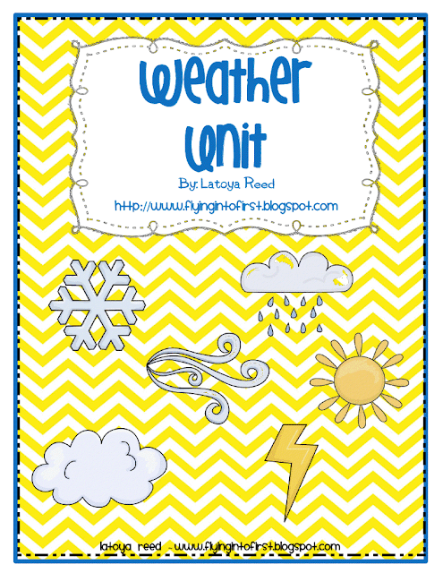 New TPT Product!!! Weather Unit!!!! - Flying into First Grade