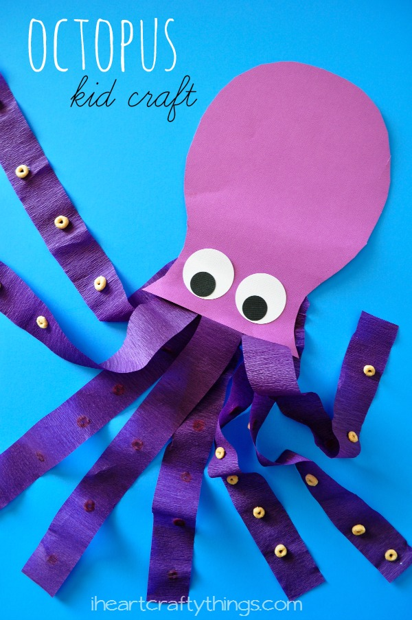 i heart crafty things octopus kids craft