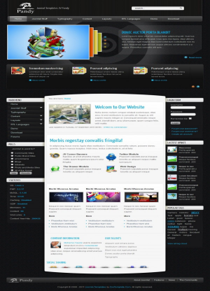 Share template JV Pandy - Joomla 1.5